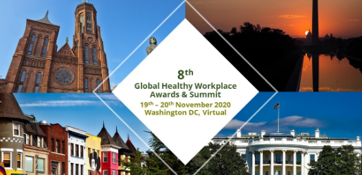 Banner of 8th global healthy workplace summit